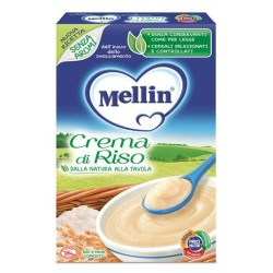 Mellin Crema di Riso 200 g - Alimento per la Prima Infanzia