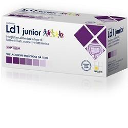 Named Disbioline LD1 Junior fermenti lattici per bambini 10 fiale monodose 10 ml