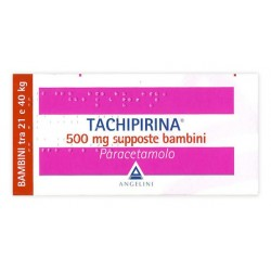 Tachipirina Bambini (21-40 KG) 500mg - 10 Supposte