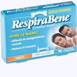 Respirabene Cerotti Nasali Traspiranti Adulti 30 pezzi