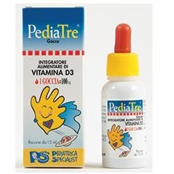 PEDIATRE VITAMINA D 15 ML