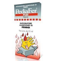Pediatrica PediFer Plus Gocce Integratore di ferro per bambini 15 ml