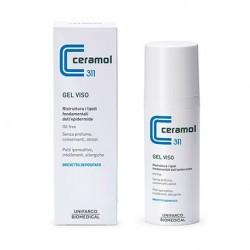 Ceramol 311 Gel viso idratante e antiossidante per pelle acneica 50 ml