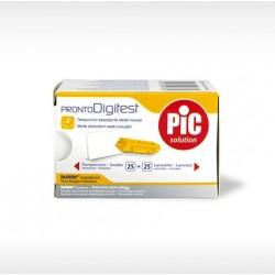 Pic ProntoDigitest 25 Lancette Pungidito + 25 Tamponcini Assorbenti