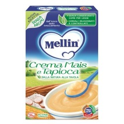 Mellin Crema di Mais e Tapioca 200 g - Alimento per la Prima Infanzia