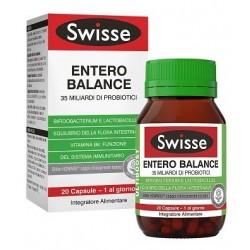 Swisse Entero Balance Integratore Fermenti Lattici 20 Capsule