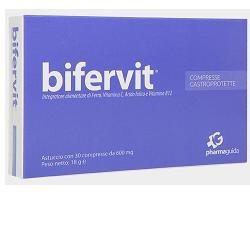 Pharmaguida Bifervit integratore con ferro e acido folico 30 compresse