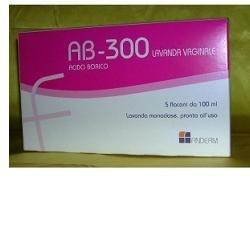 Ab 300 lavanda vaginale per infezioni micotiche 5 flaconcini da 140 ml