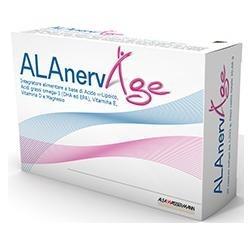 Alfasigma ALAnerv Age integratore antiossidante per funzione cerebrale 20 capsule