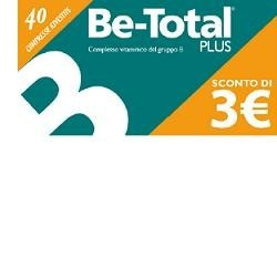 Betotal Compresse - Integratore Alimentare di Vitamine B 40 compresse