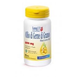 LongLife olio di germe di grano integratore antiossidante 60 perle