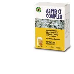 Asper Ci Complex integratore per difese immunitarie 18 compresse effervescenti