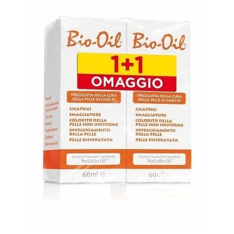 Bio Oil Olio Dermatologico per Smagliature e Cicatrici 60+60ml BIPACK SPECIAL PROMO