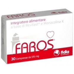 Faros 30 Compresse da 515mg - Integratore Alimentare per il Colesterolo