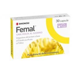 Femal integratore a base di polline per i sintomi della menopausa 30 capsule