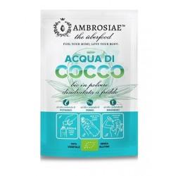 Ambrosiae Acqua di Cocco bio in polvere rimineralizzante 10 g