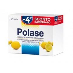Polase Limone 24 Bustine Effervescenti - Integratore di Sali Minerali SPECIAL PROMO