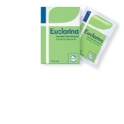 Euclorina fazzoletti disinfettanti e antibatterici con clorexidina 10 pezzi