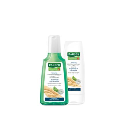 Rausch Set Anticaduta: Shampoo e Balsamo al Ginseng e Caffeina Limited Edition Special Promo