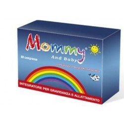 Mommy and Baby 60 Compresse Integratore per Gravidanza e Allattamento