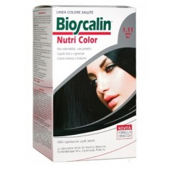 Bioscalin Nutri Color 1.11 NERO BLU colorazione permanente pelle sensibile