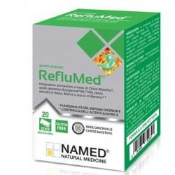 Named Reflumed integratore digestivo gusto ananas 20 stick