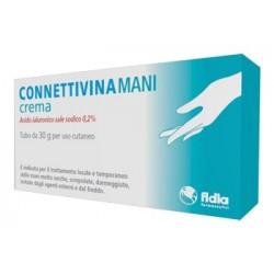 Connettivina Mani Crema per la Mani con Acido Ialuronico 30gr