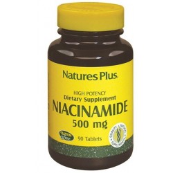 Nature's Plus Niacinamide 500 mg integratore per 90 tavolette