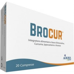 Brocur integratore drenante per microcircolo 20 compresse