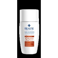 Rilastil Sun System Fluido Mineral Pelli Intolleranti Protezione Solare SPF 50+ - 50 ml