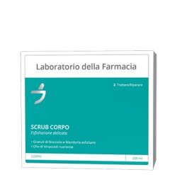 Scrub Corpo con Granuli di Nocciolo e Mandorla Esfoliante Delicato 200 ml