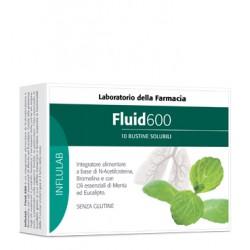 Fluid 600 10 Bustine - Integratore Alimentare per le Vie Respiratorie
