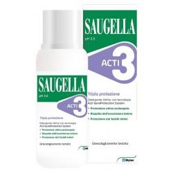 Saugella Acti3 - Detergente intimo tripla protezione 250ml