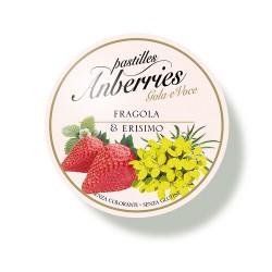 Anberries Fragola e Erisimo Caramelle per la Gola 55 g