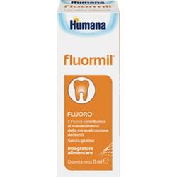 Fluormil Gocce 15 ml - Integratore di Fluoro per Bambini