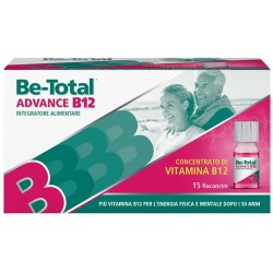 Be-Total Advance B12 15 Flaconcini - Integratore Contro la Stanchezza
