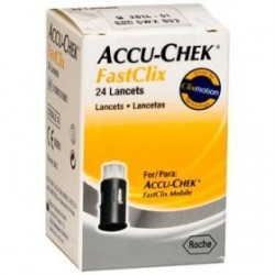Accu-Chek FastClix 24 Lancette Pungidito per il Controllo della Glicemia