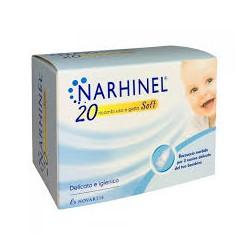 Narhinel 20 Ricambi Soft Usa e Getta per Aspiratore Nasale per Bambini