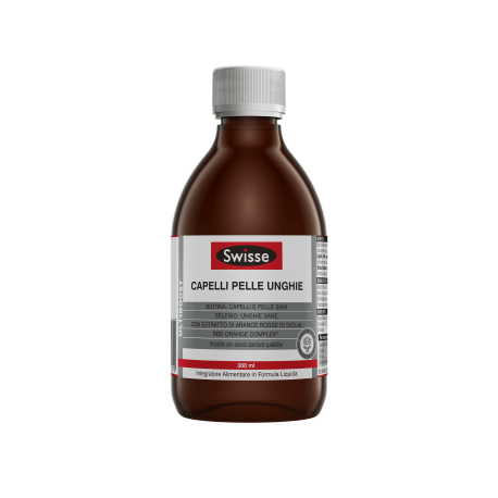 Swisse Capelli Pelle Unghie Liquido - Integratore Antiossidante 300ml