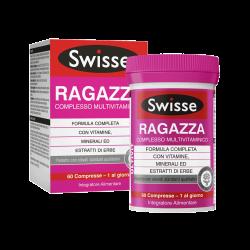 Swisse Multivitaminico Ragazza Integratore Alimentare 60 Compresse