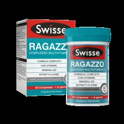 Swisse Multivitaminico Ragazzo Integratore Alimentare 60 Compresse