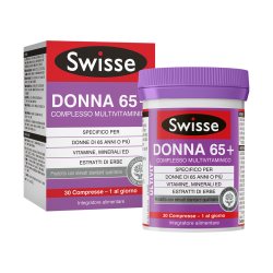 Swisse Multivitaminico Donna 65+ Integratore Alimentare 30 Compresse