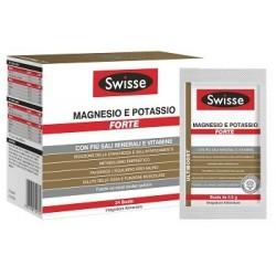 Swisse Magnesio e Potassio FORTE 24 Bustine Integratore Energetico