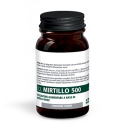 Mirtillo 500 40 Compresse Masticabili - Integratore per la Vista