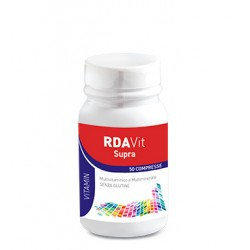 RDA VIT Supra 50 Compresse - Integratore Multivitaminico e Multiminerale