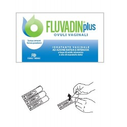 Fluvadin Plus ovuli vaginali idratanti vaginali rapidi intensivi 10 pezzi