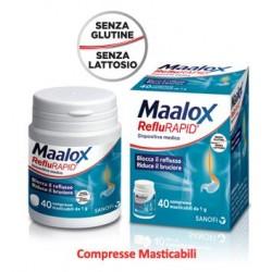 Maalox Reflurapid 40 Compresse Masticabili Contro il Reflusso Gastrico