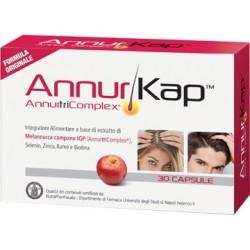 AnnurKap integratore di Melannurca Campana per il benessere dei capelli 30 capsule
