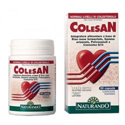 Colesan integratore di riso rosso contro il colesterolo 60 capsule