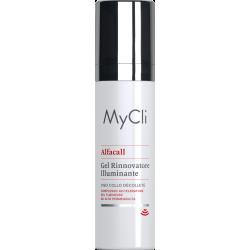 MyCli Alfacall Gel Rinnovatore Illuminante per il Viso 50ml